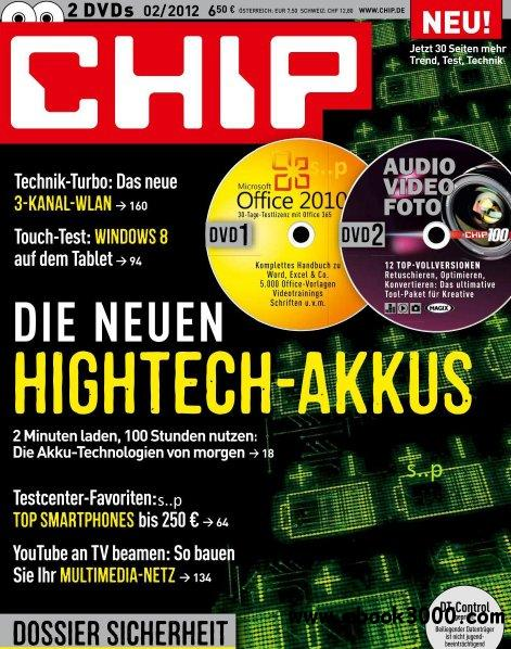 Chip Magazin Februar No 02 2012 free download