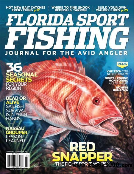 Florida Sport Fishing - January/February 2012 free download