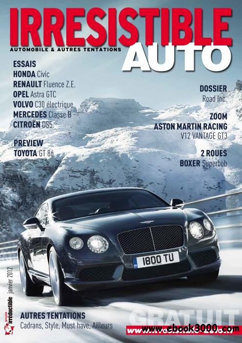 Irresistible Auto - Janvier 2012 free download