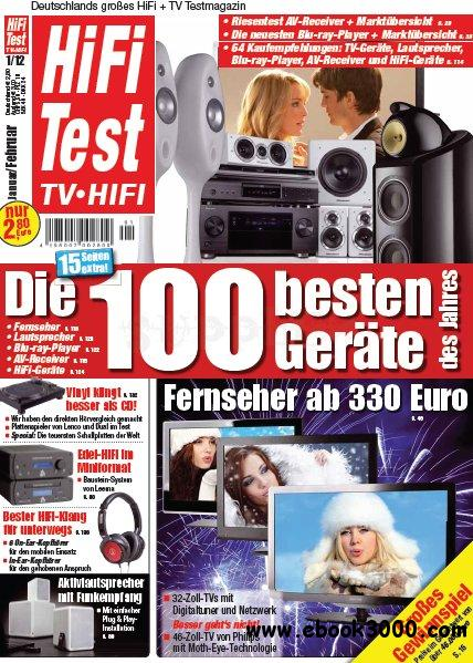 Hifi Test TV Video Magazin Januar Februar No 01 2012 download dree