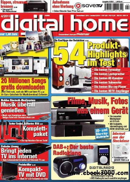 Digital Home Magazin Dezember 2011 - Februar 2012 No 04 2011 free download