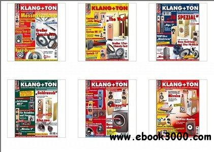 Klang+Ton Magazin Jahrgang 2005 Full Year Collection free download