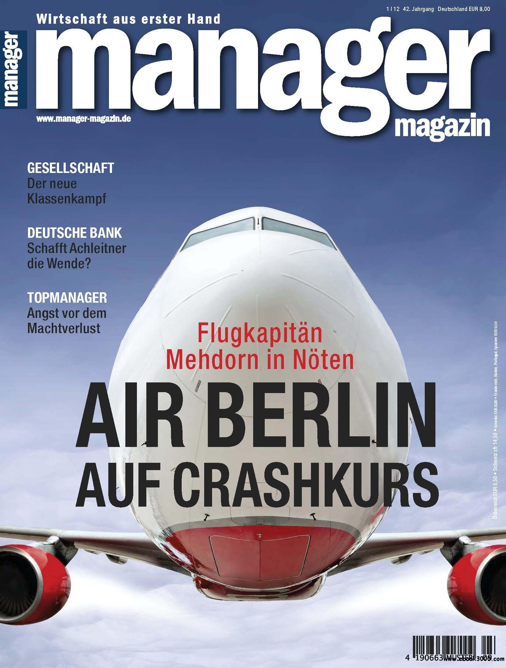 Manager Magazin Januar No 01 2012 free download