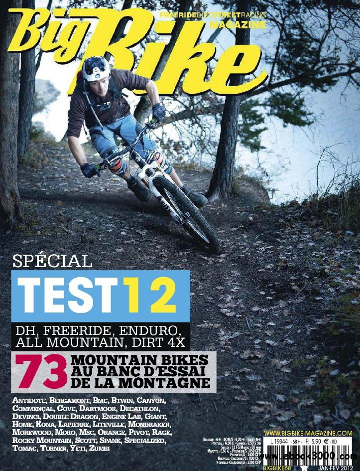 Big Bike N 68 Janvier - Fevrier 2012 free download