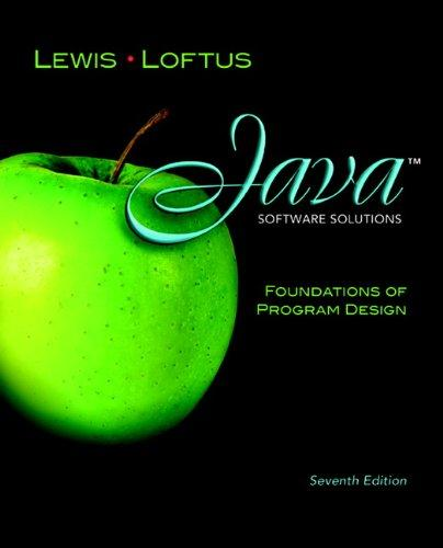 Java Software Solutions: Foundations of Program Design (7th Edition) free download