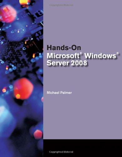 Hands-On Microsoft Windows Server 2008 free download
