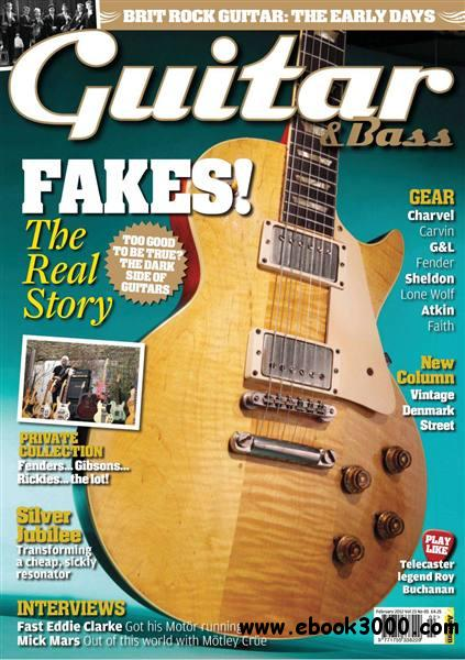 Guitar & Bass - February 2012 free download