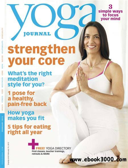 Yoga Journal - January 2012 free download
