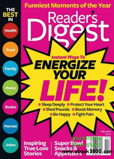 Reader'S Digest USA - February 2012 (HQ PDF) free download