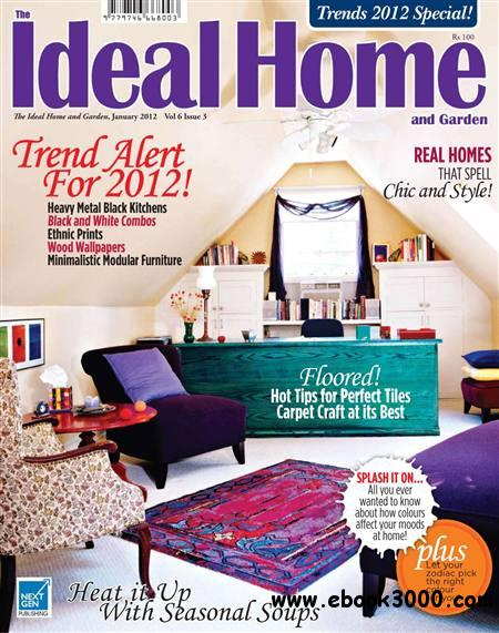 The Ideal Home and Garden - January 2012 free download