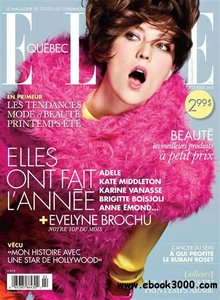 Elle Quebec - Fevrier 2012 free download