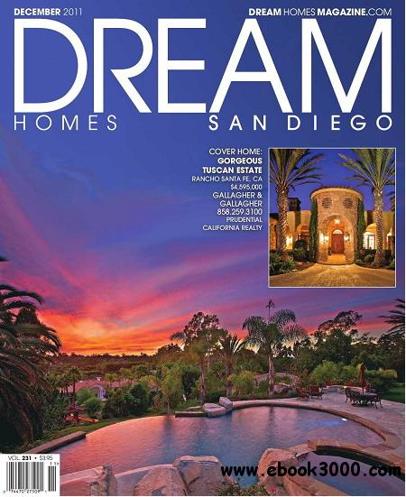 Dream homes san diego magazine december 2011 free ebooks for Dream homes magazine