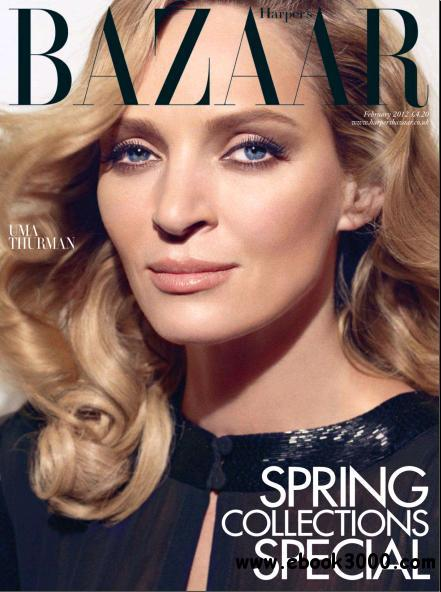 Harper's Bazaar UK - February 2012 (HQ PDF) free download
