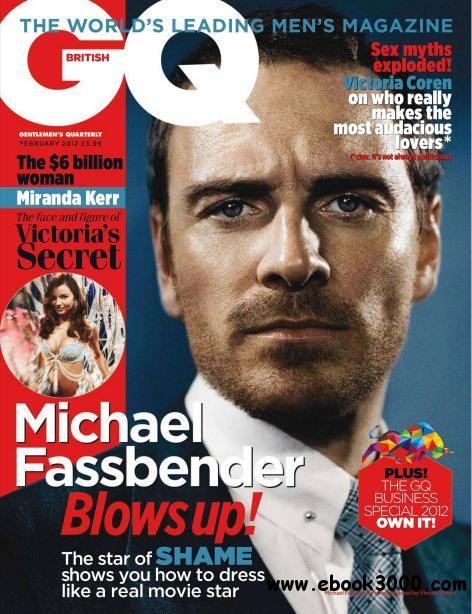 GQ UK - February 2012 (HQ PDF) free download
