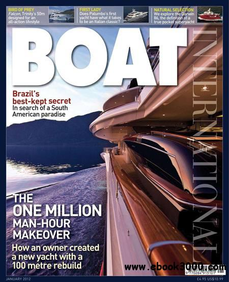 Boat International - January 2012 free download