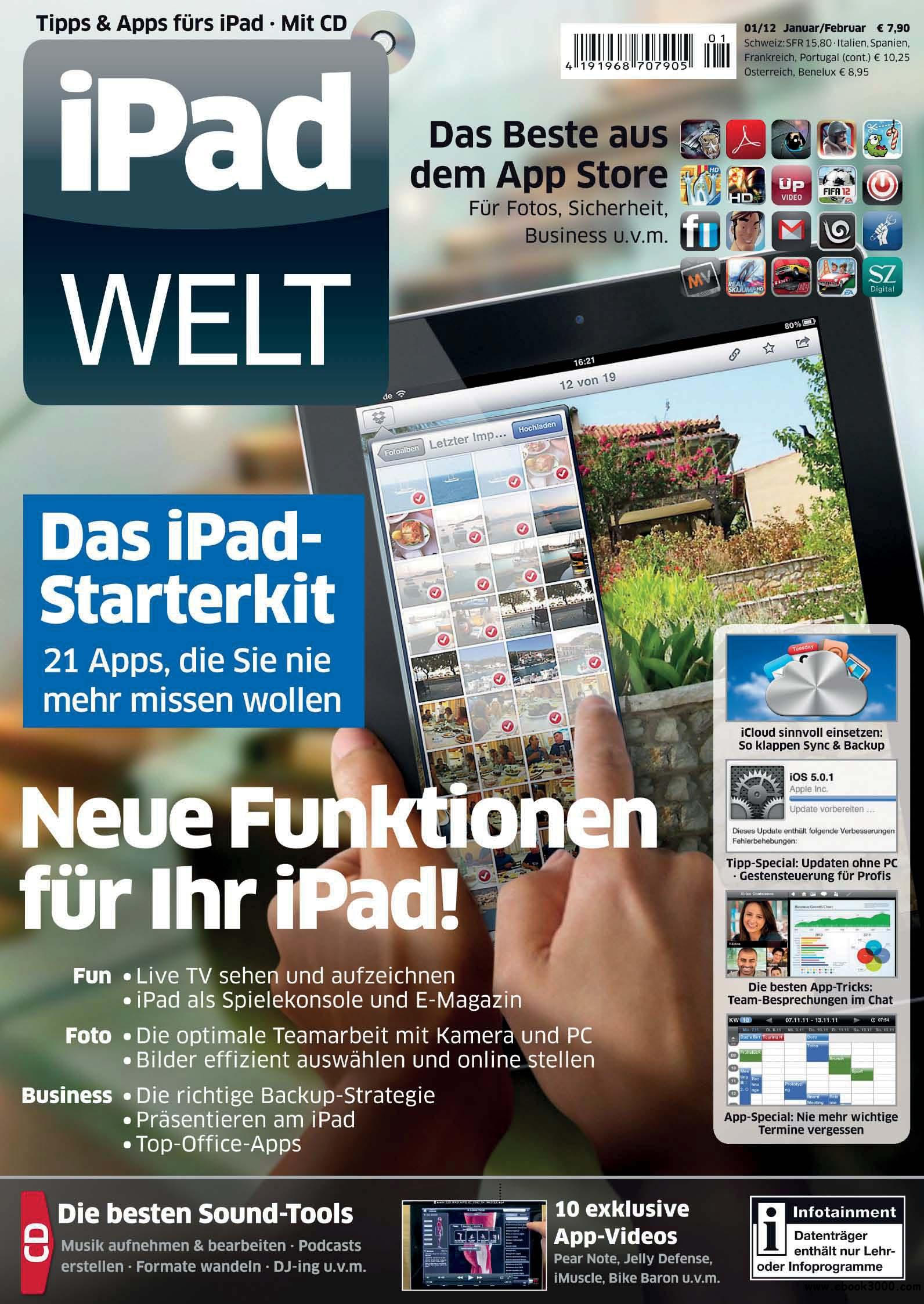 iPad Welt 01/2012 Januar/Februar free download