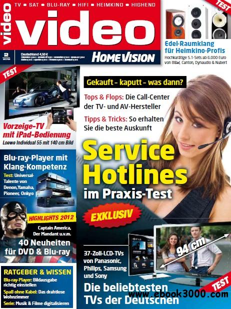Video Homevision Magazin Februar No 02 2012 free download