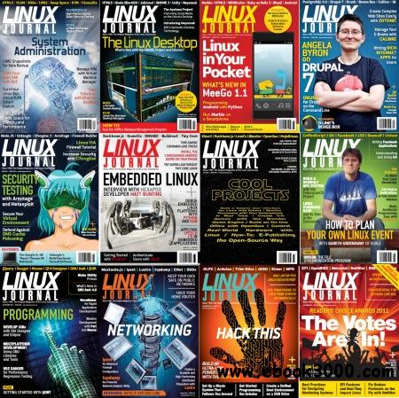 Linux Journal USA Magazine - 2011 Full Year Issues Collection free download