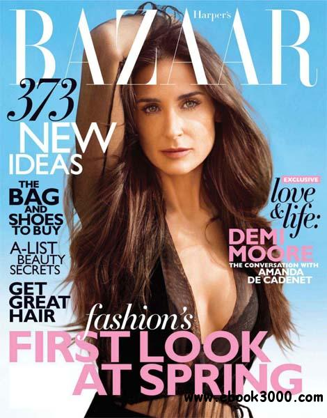 Harper's Bazaar February 2012 (USA) download dree