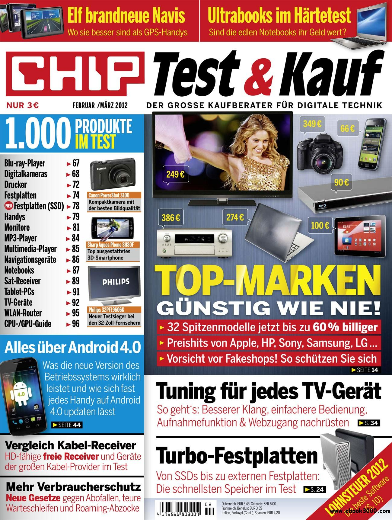 Chip Test und Kauf Februar Marz No 02 2012 free download