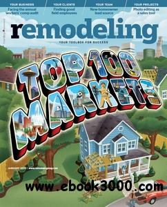 Remodeling Magazine - January 2012 free download