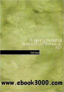 O. Henry Memorial Award Prize Stories of 1921 (Large Print Edition) free download