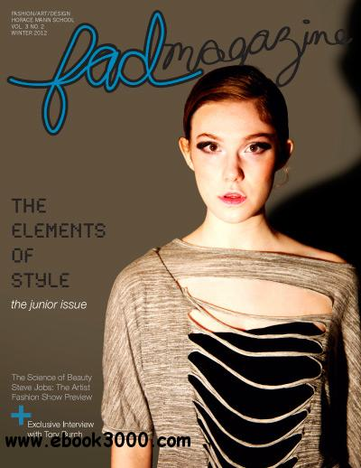 FAD Magazine - Winter 2012 free download