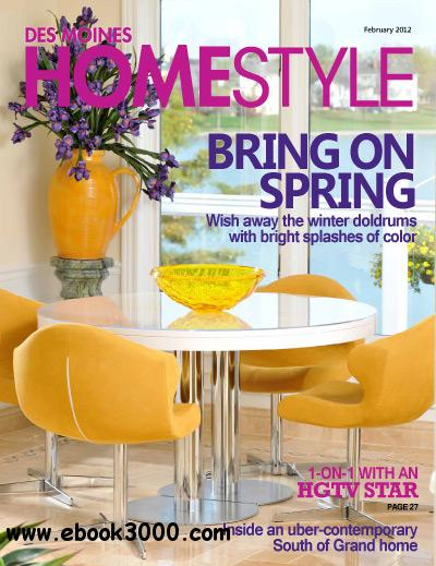 Des Moines Homestyle - February 2012 free download