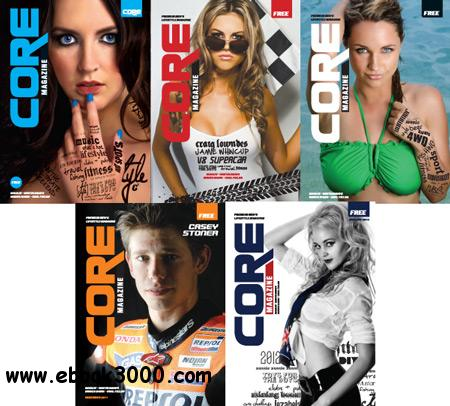 CORE Magazine issues 1-5 2011/2012 free download