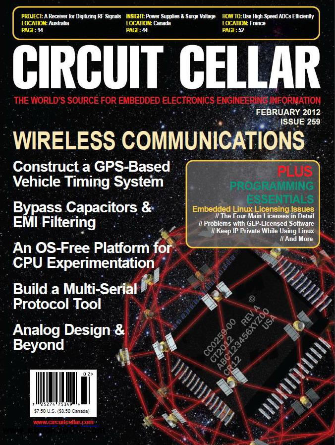 Circuit Cellar No.259 - February 2012 free download