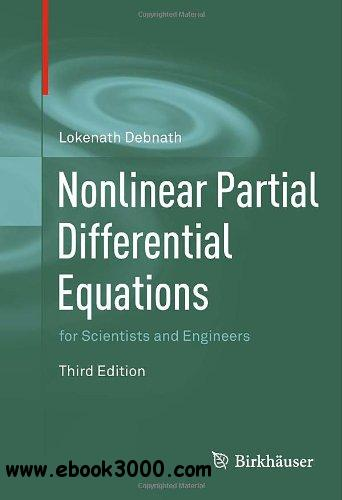 Nonlinear Partial Differential Equations for Scientists and Engineers free download