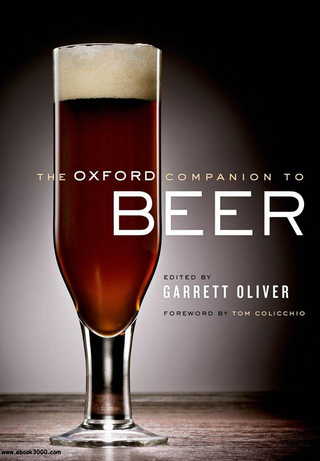The Oxford Companion to Beer free download