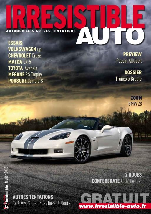 Irresistible Auto - Fevrier 2012 free download