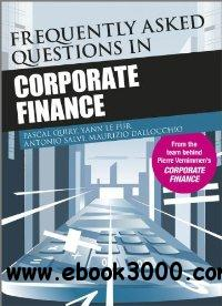 Frequently Asked Questions in Corporate Finance free download