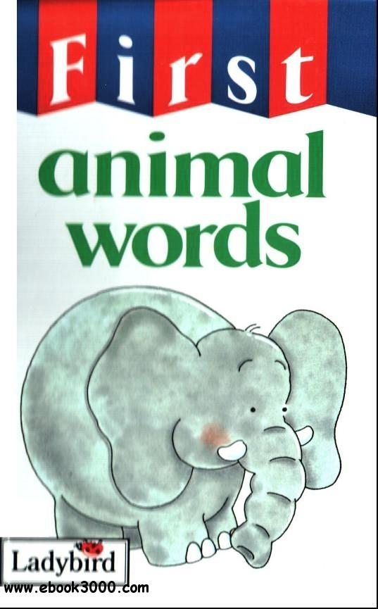 First Animal Words free download