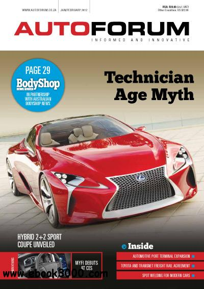 AutoForum - January/February 2012 free download