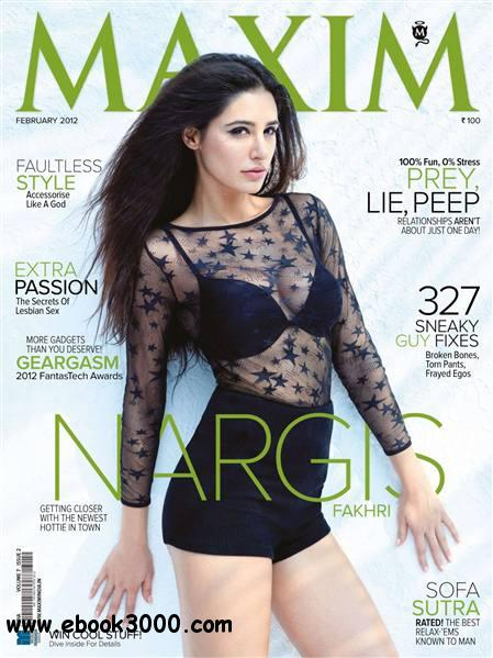 Maxim India - February 2012 free download