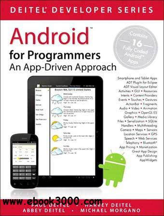 Android for Programmers: An App-Driven Approach free download