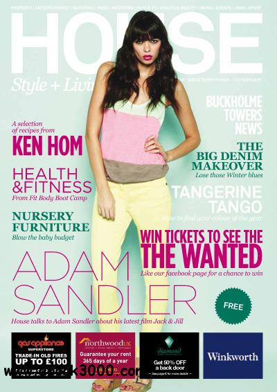 House Magazine issue 33 - February 2012 free download