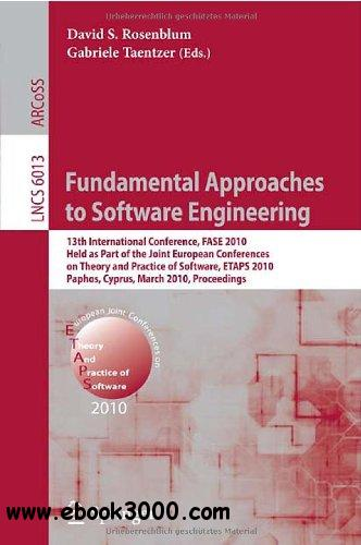 Fundamental Approaches to Software Engineering free download