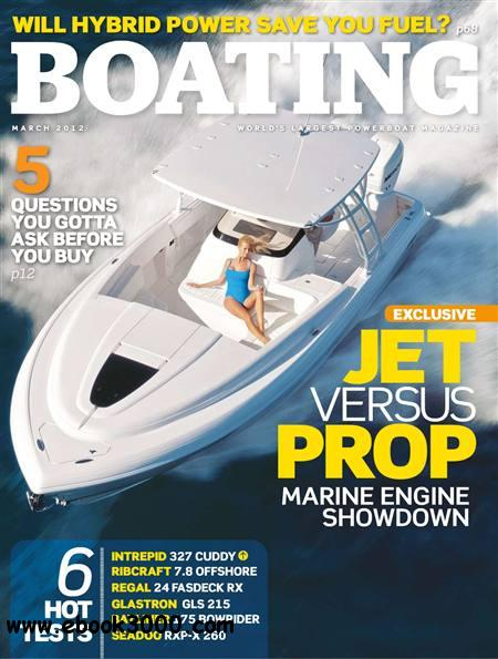 Boating - March 2012 free download