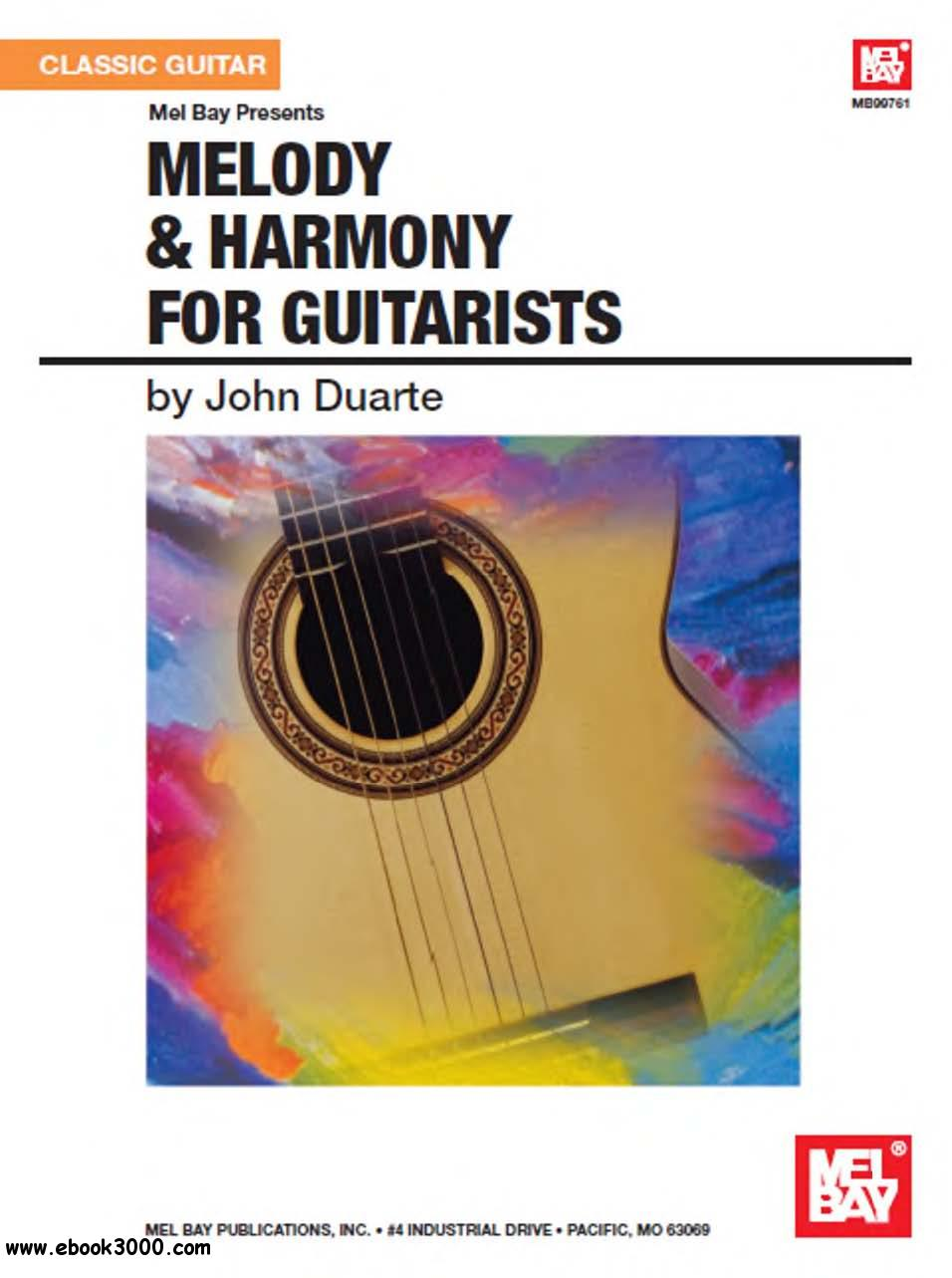 Melody & Harmony for Guitarists by John Duarte free download