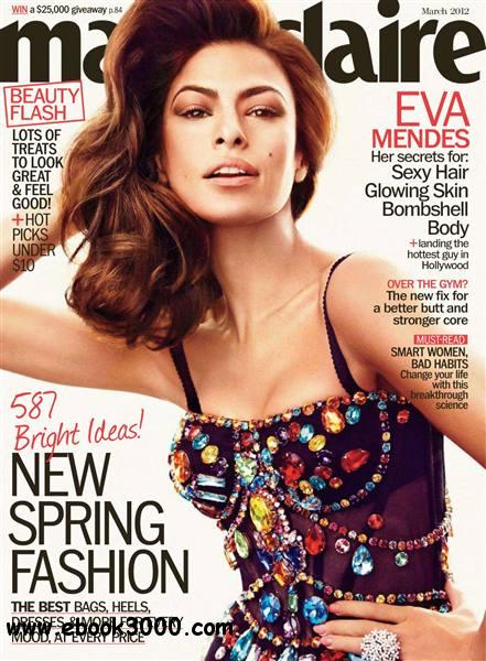 Marie Claire - March 2012 free download