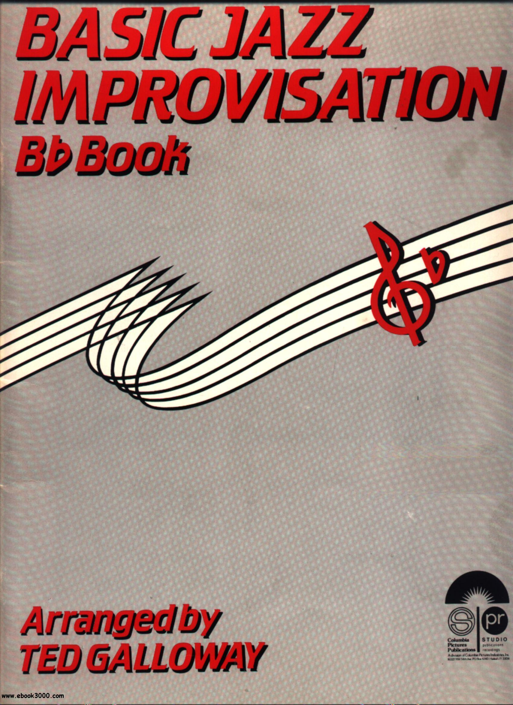 Basic Jazz Improvisation free download