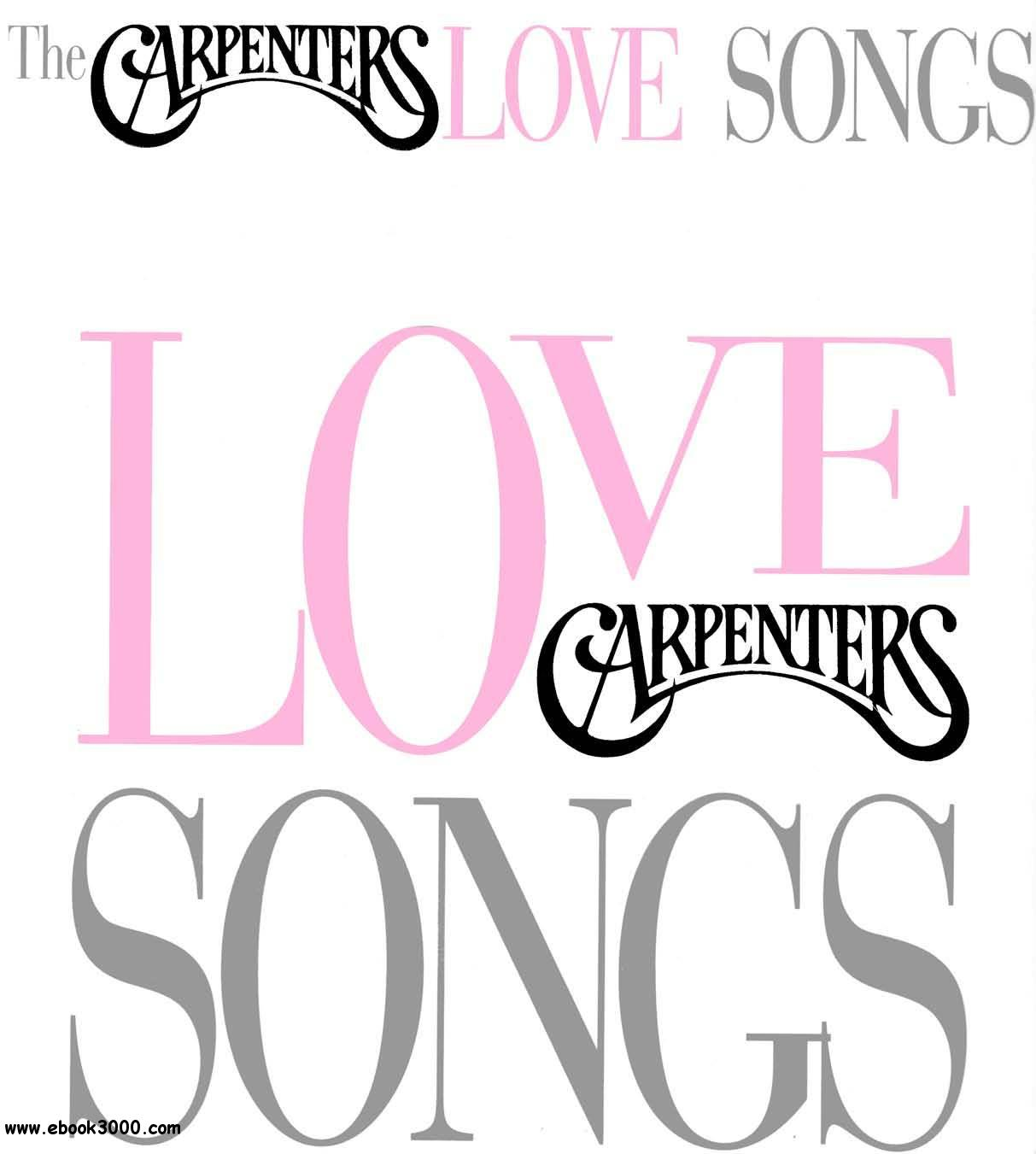 The Carpenters - Love Songs free download