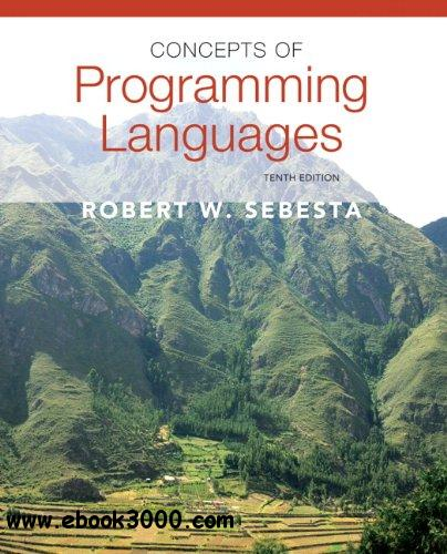 Concepts of Programming Languages, 10th Edition free download