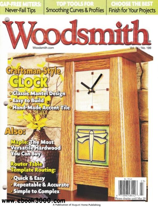 Woodsmith Issue #199 free download