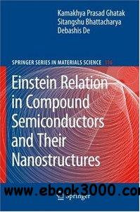 Einstein Relation in Compound Semiconductors and Their Nanostructures free download