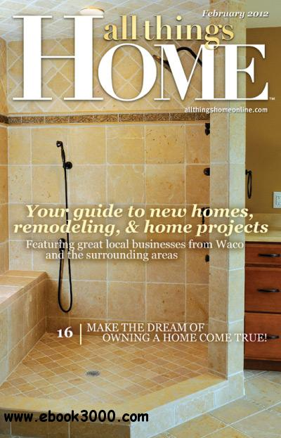 All Things Home - Febuary 2012 free download