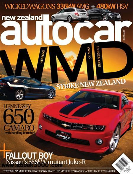 New Zealand Autocar - March 2012 free download